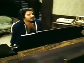 Vintage baby grand pianos Playing piano with ron