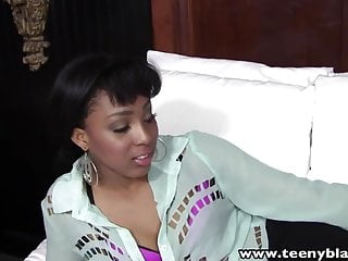 Teen first time bj - Teenyblack sexy ebony teen first time interracial porn