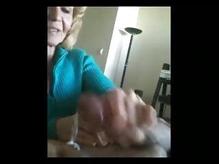Cfnm handjob tube - Hot amateur mature cfnm handjob cum lick