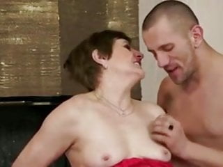 Granny got her hairy old - Granny got her old hairy pussy creampied