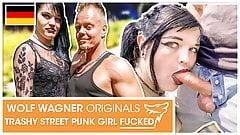 Teen Doreen sucked his dick in Public! WolfWagner.com