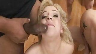 Mouth Gangbang & Swallow