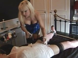 Madam rattan femdom - Madame c teases, shaves and penetrates madamesangelica