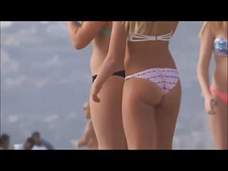 Rafa nadal scratches bottom - My dream bikini babes playing and scratching touching