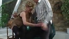 German Granny gets pounded
