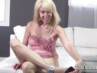 Clit suction pics Erica lauren suctions her nipples then masturbates