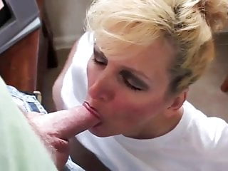 Amateur mature blowjob swallow - Slutty wife swallows her husbands load