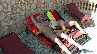 group sex on vacation on Mallorca