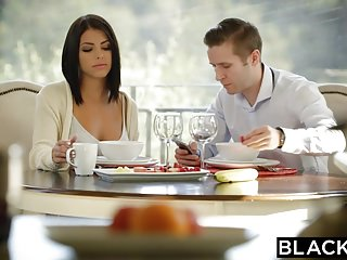 Literotica gangbanged Blacked brunette adriana chechik takes trio of bbcs