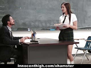 Hardcore amber video Innocenthigh - cute schoolgirl jade amber fucked by huge coc