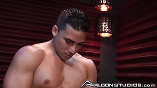 FalconStudios Ryan Rose Slammed by Stripper