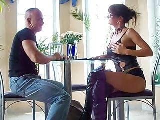 Wet latex anal - Latex anal wife