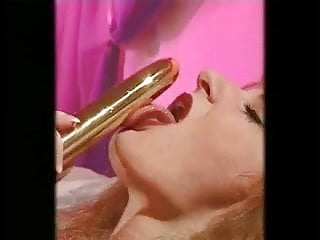 Busty strawberry blonde - Sexy strawberry blonde masturbates with toy