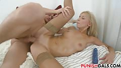 Constance takes dick in both holes