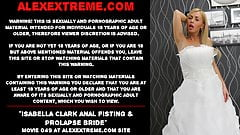 Isabella Clark anal fisting & prolapse bride