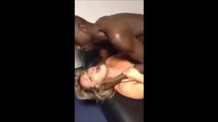 French wife screams with black lover