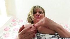British milfs Alisha Rydes and Amanda Degas fuck a dildo