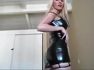 Free girl latex gallery - Blonde webcam girl latex dress