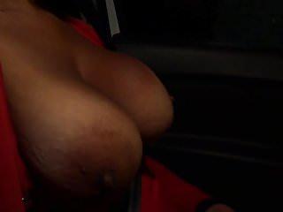 Big natural black ass Huge big natural black tits deepthroats my white cock