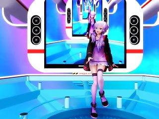 Synthesized asian voice Happy synthesizer - yuzuki yukari mmd r-18