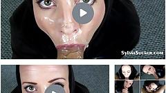 Stepmom and Stepson Huge Facial Cumshot Sylvia Chrystall
