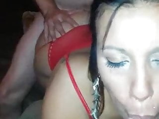 Nude kathy Kathy sister gets spit roasted