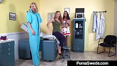 Lets Play Doctor Puma Swede Jessica Jaymes & Nicole Aniston!