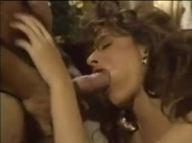 Vintage Big Tits Blowjob
