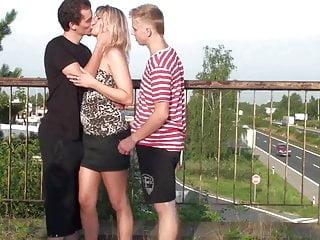 Pictures sex on bridge Public gangbang sex on a bridge part 1