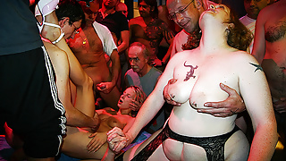 first party orgy for stepmom and stepdaughter