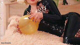Hot Looner fantasy free porn air balloons video Arya Grander