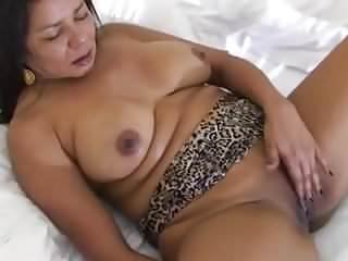 Lady naked