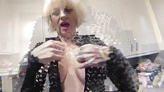 Gilf Teasing Dirty milf whore Granny