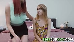 Stuffing Her Bra - Lilian Stone, Kristy May