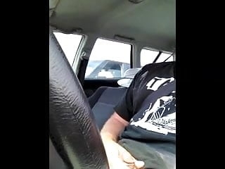 Woman watches wife suck Amazing car flash woman watches me till i cum