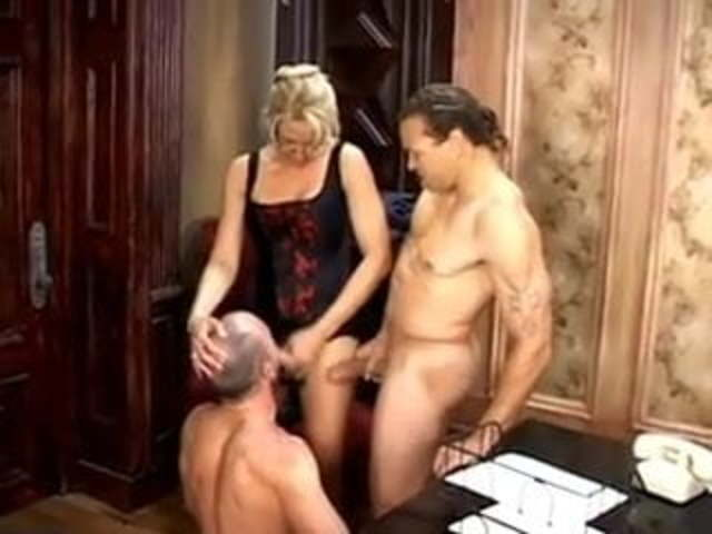 Husband Makes Wife Gangbang