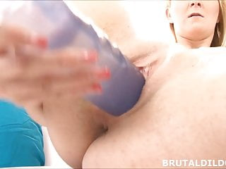 Gay sex story purple dildo A long brutal purple dildo