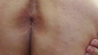 Shemale Ass Clapping White Bubble Butt Ladyboy