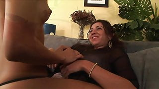 Sexy Latina gets her moist twat licked by a smoking hot blonde
