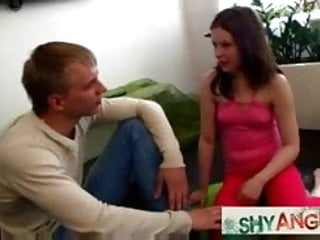 Swinger sex movie gallery Shy teeny in a hot doggystyle fuck gallery