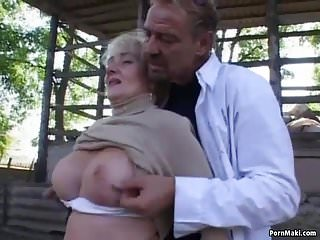Amateur sex in back yard pics Granny gets fucked in the back yard