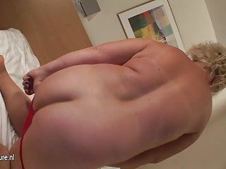 Fat free gallery milf mother - Fat ass blonde mother playing with her special toy