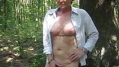 Gaby0Sucht2 - Public nudity
