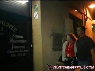 Sauna club gay - Velvet swingers club sauna party wives gangbang day