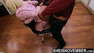 Daddy It Hurts! Butt I Will Deal With It Sheisnovember Anal