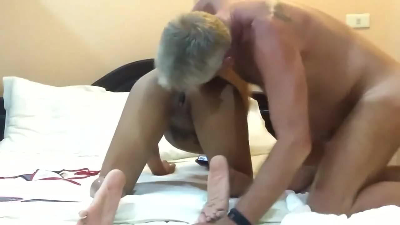Mature Thai With White Man