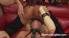 Raw Fucking Sex - Michelle Thorne In Latex Suit Loves Fuck