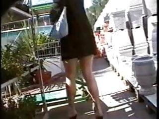 Mature pantie clip - Next clip shopping without panties