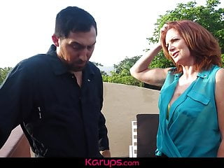 Escort ford repair Karups - mature redhead andi james fucks repair man on roof