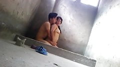 Desi Indian bathroom sex